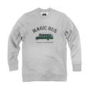 파퓰러너드(POPULARNERD) Magic Bus Crewneck gray