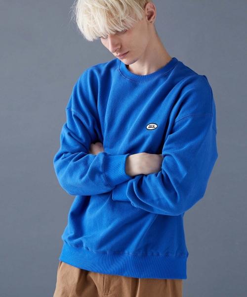 스컬프터_THINK SWEATSHIRTS[BLUE]