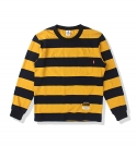 소버먼트 위드 로모트(SOVERMENT WITH LOMORT) 10s border mtm-mustard/navy