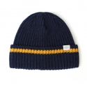언더컨트롤() BEANIE / BOLD FIT / WOOL / ONE STRIPE / H NAVY