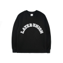 레이어 유니온(LAYER UNION) ARCH LOGO SWEAT SHIRTS BLACK
