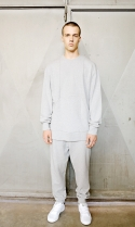 Cotton tapered sweatpants[gy]