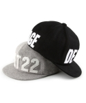 언티지() UHG-FS01 untage applique wool ballcap[black / grey(UNISEX)]
