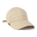 슈퍼비젼(SUPERVISION) RAINBOW BALL CAP BEIGE - [MU]