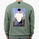 PPP NKOTB2 SWEAT SHIRTS (OLIVE)