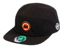 더블에이에이 피티드(DOUBLE AA FITTED) Black DA Camp cap