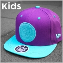 대드릭(DADLIK) EMBLEM CAP mini (PURPLE/MINT)