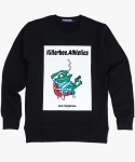 킬러비(KILLER BEE) Weird Frog Sweatshirt (black)