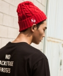 네이키드센스 NO EMBROIDERY BEANIE [RED]