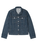 [콰이트]Steel Blue Denim 3rd Jacket