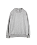 하이노크(HIGHKNOCK) hands up crewneck sweatshirt grey - over fit