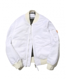 NS MA-1 JACKET white