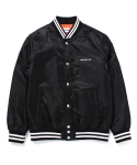 인사일런스(INSILENCE) ND BASEBALL JACKET (BLACK)