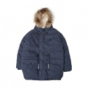 스테레오 바이널즈(STEREO VINYLS) [PSLN] Polar Parka Down Jacket (Navy)