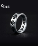 [FROID] frc-0090015r 925Sterling Silver antique-Cross ring
