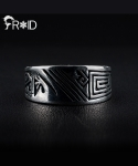 프루와(FROID) [FROID] frc-0120015r 925Sterling Silver ancient-Letter ring