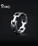 프루와(FROID) [FROID] frc-0170015r 925Sterling Silver plain-Chain ring