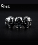 [FROID] frc-0460015r 925Sterling Silver Kerberoskull ring