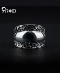 프루와(FROID) [FROID] frc-0790015r 925Sterling Silver Encroach ring