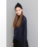 로에일(LOEIL) HARF NECK KNIT (NAVY)