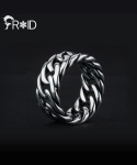 프루와(FROID) [FROID] frc-1460015r 925Sterling Silver big-Chain ring