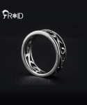 [FROID] frc-1580015r 925Sterling Silver antique-Maya ring