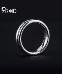 [FROID] frc-2030015r 925Sterling Silver Uno-trazo ring
