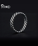 프루와(FROID) [FROID] frc-2250015r 925Sterling Silver Twisted ring