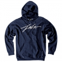 SIGNATURE PULLOVER 5F NAVY HEATHER