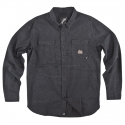 TOPOGRAPHY L S WOVEN BLACK