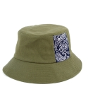 BANDANA PATCH BUCKET HAT