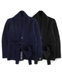 언티지() UTW-FC03 shawl collar cardigan[black / navy(UNISEX)]
