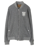 언티지() UTO-FB03 untage varsity wool jacket[grey(UNISEX)]