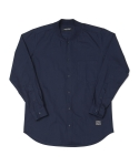 15 F/W KNIT NECK SHIRTS NAVY