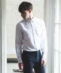 울프 Basic Oxford Shirt (White)