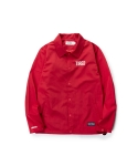 LEATA x SAMBYPEN TIRED coach jacket red