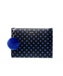 에리쏜(HERISSON) MILANI DOT  CLUTCH BLUE