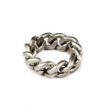 THE BOLD SILVER CHAIN RING/체인 링 반지