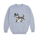 lambswool sweater* sled dog