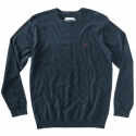 알타몬트(Altamont) [Altamont] BASIC CREW SWEATER (Navy Heather)