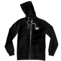 알타몬트(Altamont) [Altamont] NO LOGO CHEST CUSTOM ZIP HOOD (Black)
