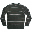 알타몬트(Altamont) [Altamont] GOWER CREW SWEATER (Charcoal Heather)