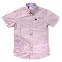 알타몬트(Altamont) [Altamont] DERBY X PREMIUM BUTTON-UP S/S SHIRTS (Red)