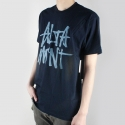 알타몬트(Altamont) [Altamont] STACKED BASIC S/S (Navy/Blue)