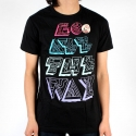 알타몬트(Altamont) [Altamont] GO ALL THE WAY X PINKYVISION LIMITED NORMAL FIT S/S (Black)