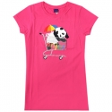 엔조이(ENJOI) [enjoi] BEST SELLER SLIM FIT S/S WOMENS (Hot Pink)