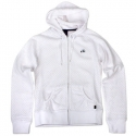 [enjoi] WOMENS RAINBOW BRITE CUSTOM ZIP HOOD (White)