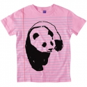엔조이(ENJOI) [enjoi] NOTEBOOK PANDA PREMIUM SLIM FIT S/S WOMENS (Light Pink)
