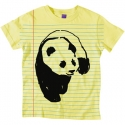 엔조이(ENJOI) [enjoi] NOTEBOOK PANDA PREMIUM SLIM FIT S/S WOMENS (Lemon)