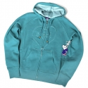 엔조이(ENJOI) [enjoi] WOMENS HEART & SOUL 2 CUSTOM ZIP HOOD (Aquamarine)